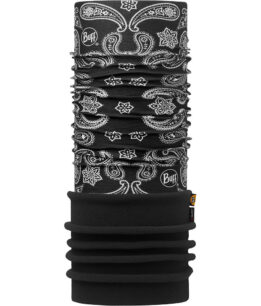 "Studio photo of the Polar Buff® Design ""Cashmere Black/Black"". Source: buff.eu"