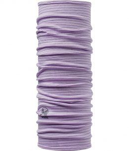 "Studio photo of the Wool Buff® Design ""Lavender Mist Stripes"". Source: buff.eu"
