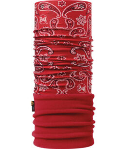 "Studio photo of the Polar Buff® Design ""Cashmere Red/Samba"". Source: buff.eu"