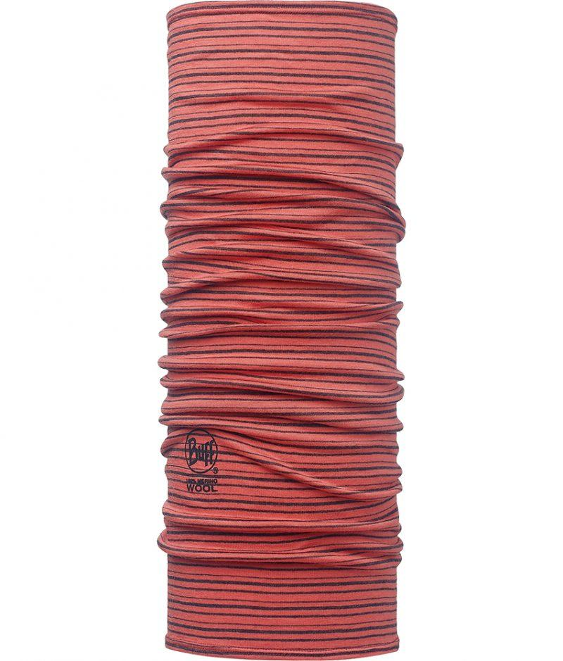 "Studio photo of the Wool Buff® Design ""Coral Stripes"". Source: buff.eu"