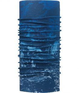 "Studio photo of the Original Buff® Design ""Mountain Bits Blue"". Source: buff.eu"