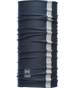 "Studio photo of the Dry Cool Buff® Design ""Reflective Navy"". Source: buff.eu"