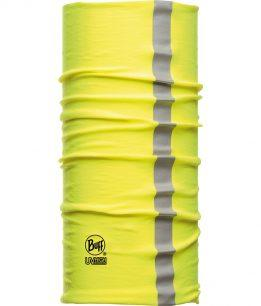 "Studio photo of the Dry Cool Buff® Design ""Reflective Yellow Fluor"". Source: buff.eu"