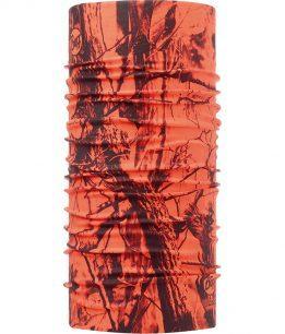 "Studio photo of the Dry Cool Buff® Design ""Blaze Orange"". Source: buff.eu"