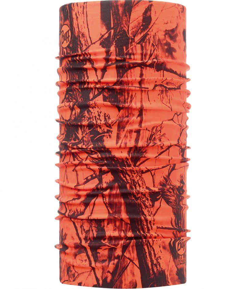 "Studio photo of the Dry Cool Buff® Design ""Blaze Orange"". Source: buff.eu"