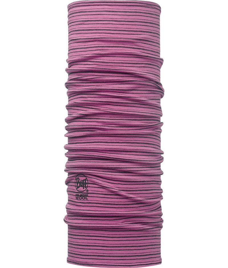"Image of the Wool Buff® Design ""Ibis Rose Stripes"". Source: buff.eu"
