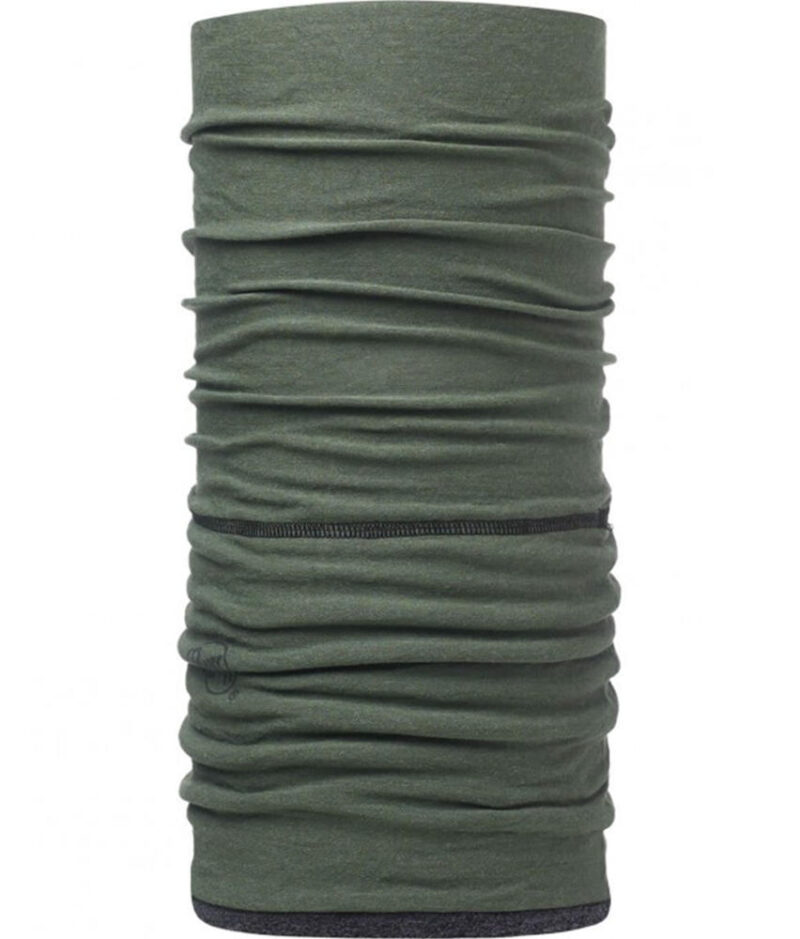 "Studio photo of the Professional Nomex Fire Resistant Polar Buff® design ""Forest Green"". Source: buff.eu"