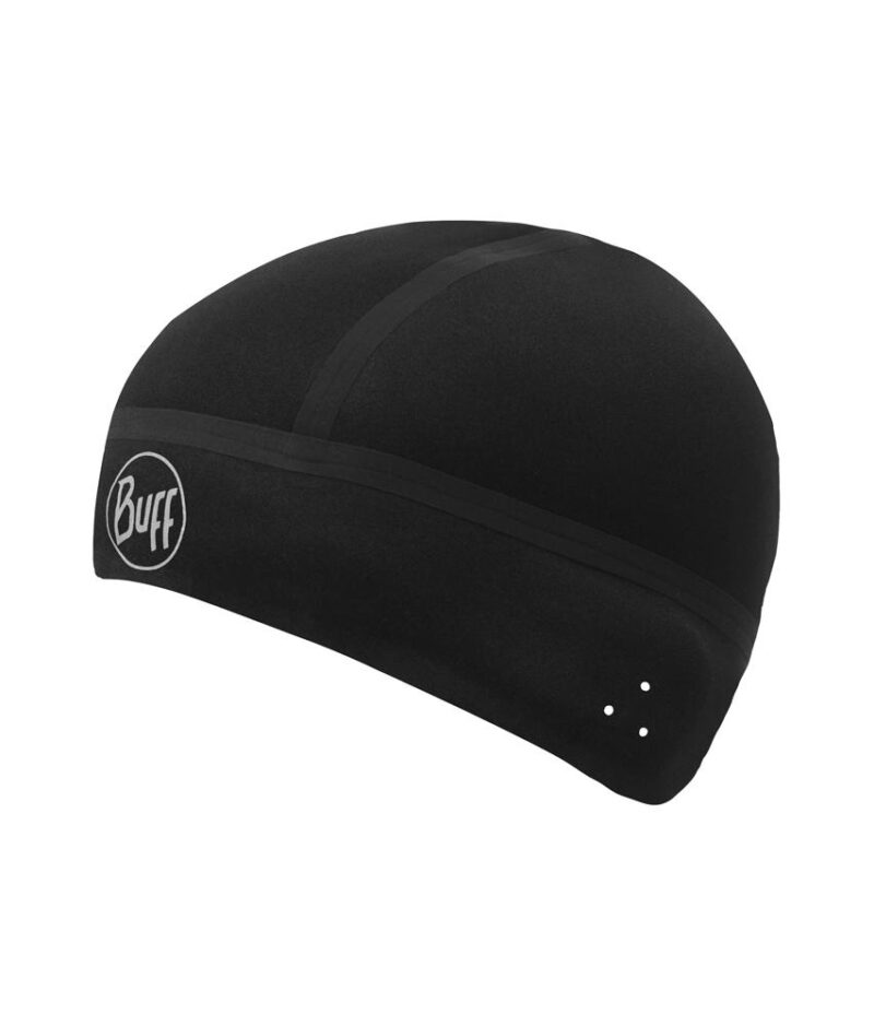 "Studio photo of the Buff® Professional Windproof Hat design ""Black"". Source: buff.eu"