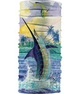 "A product photo of the High UV Buff® Design ""Guy Harvey Tossup"". Source: buff.eu"