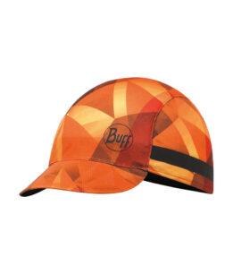 """A studio photo of the Pack Bike Cap design """"Flame Orange"""". Source: buff.eu"""