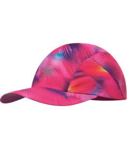 """Studio photo of the Pro Run Cap design """"Shining Pink"""". Source: buff.eu"""