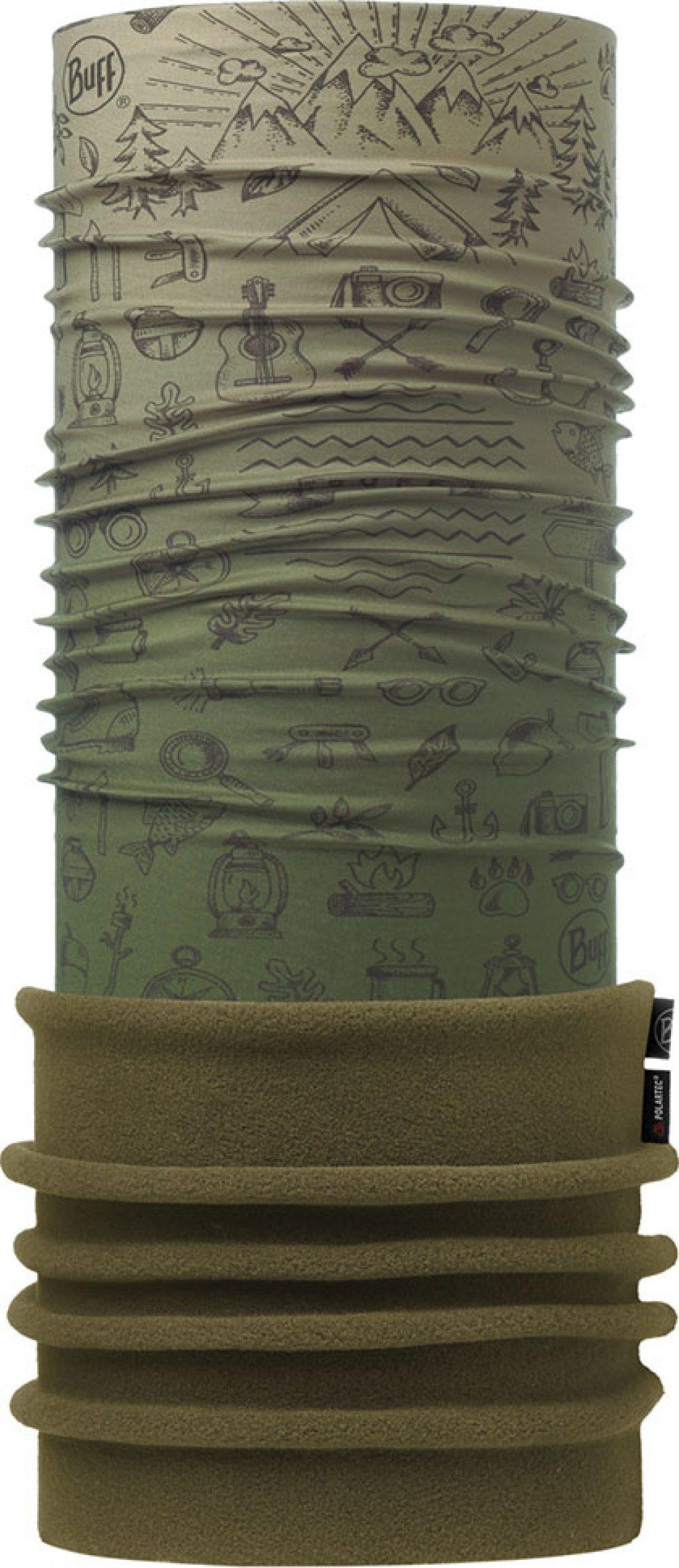 "Studio photo of the Polar Buff® Design ""Explorer Military"". Source: buff.eu"