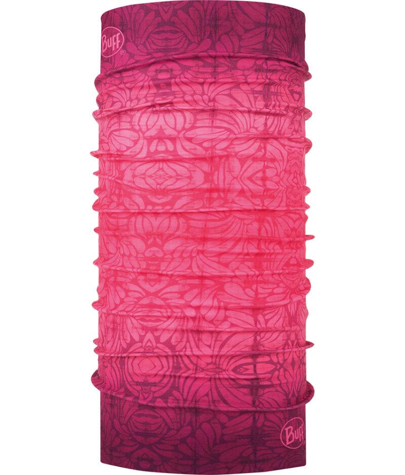 "Studio photo of the Original Buff® Design ""Boronia Pink"". Source: buff.eu"