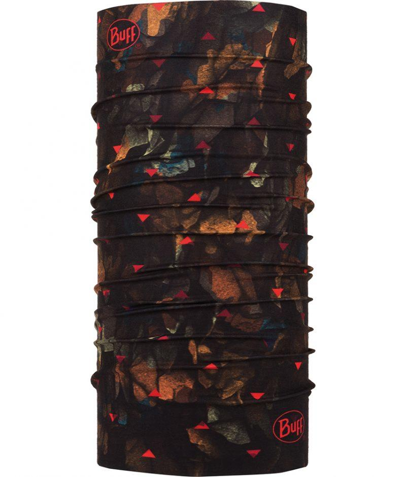 "Studio photo of the Original Buff® Design ""Rock Camo Multi"". Source: buff.eu"
