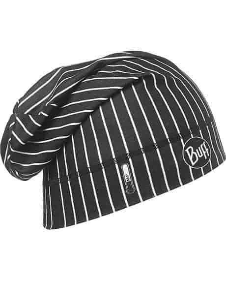 "Studio photo of the Pro Chef's Hat Design ""Cook Black"". Source: buff.eu"