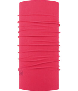 "Studio photo of the Original Buff® Design ""Bright Pink"". Source: buff.eu."