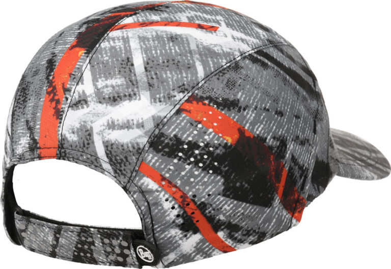 "A studio photo of the Pro Run Cap detail ""Velcro Strap"". Source: buff.eu"
