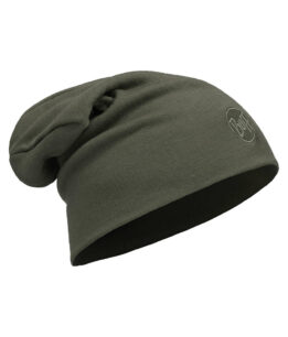 "Studio photo of the Buff® Heavyweight Wool Loose Hat Design ""Forest Night"". Source: buff.eu"