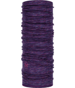 "Studio photo of the Wool Buff® Design ""Purple Multi Stripes"". Source: buff.eu"