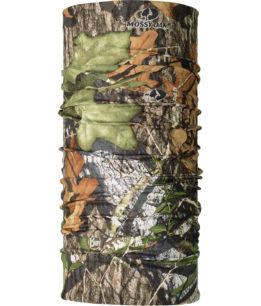 "Studio photo of the High UV Buff® Design ""Mossy Oak Obsession"". Source: buff.eu"