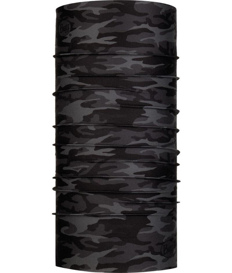 "Studio photo of the Coolnet UV Buff® Design ""Camu Black"". Source: buff.eu"