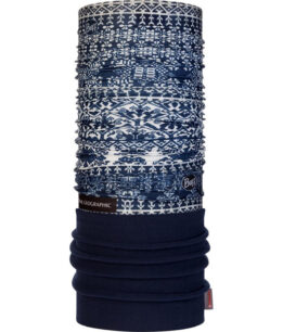 "Studio photo of the Polar Buff® Design ""Kurzeme Dark Navy"". Source: buff.eu"