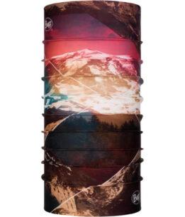 "Studio photo of the Original Buff® Mountain Collection Design ""Mount Rainier"". Source: buff.eu"