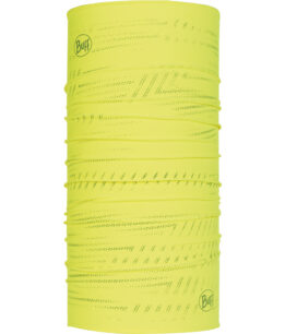 "Studio photo of the Reflective Buff® Design ""Solid Yellow Fluor"". Source: buff.eu"