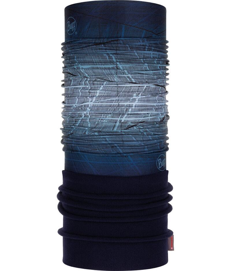 """Studio photo of the Polar BUFF® Mountain Collection Design """"Tow Blue"""""""