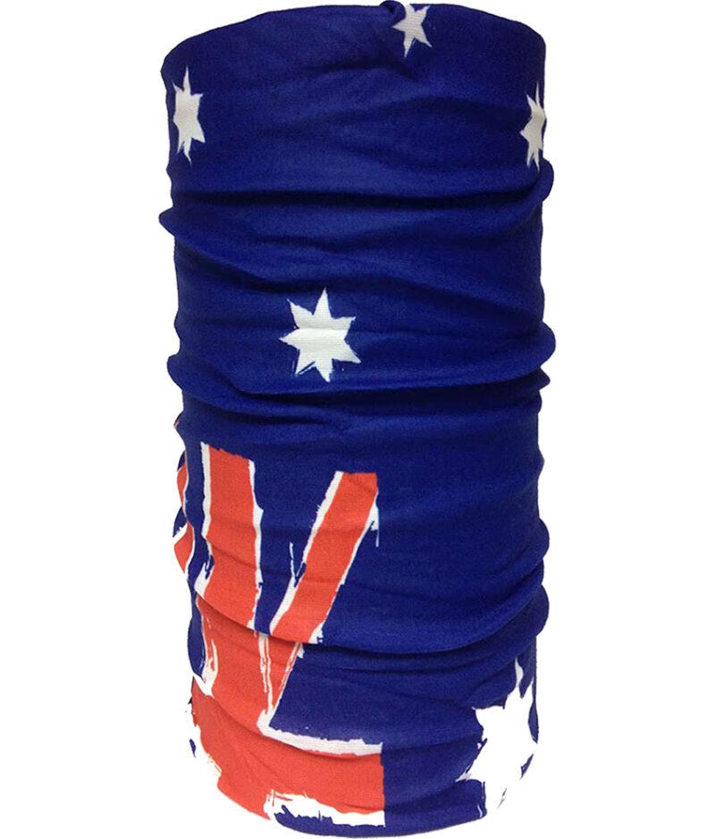 "Studio photo of the Original BUFF® Design ""Australia Flag""."