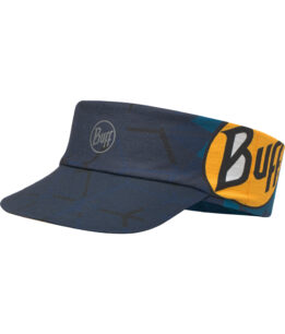 "Studio photo of the BUFF® Pack Run Visor Design ""Pro Team Helix"". Source: buff.eu"