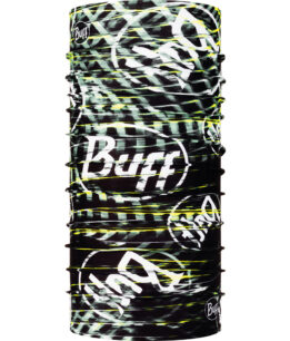 "Studio photo of the Coolnet UV+ BUFF® Design ""Ulnar Black"". Source: buff.eu"